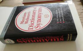 外文原版  Merriam Webster's Dictionary of Synonyms精装现货