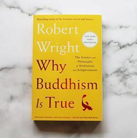 现货 英文原版书 Why Buddhism is True Robert Wright 为什么佛学是真的 令人神往的静坐开悟