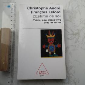 L'estime De Soi 法文法语法国原版