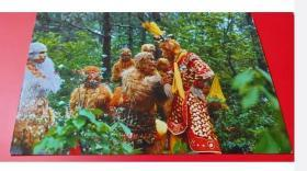 1988老版原版《西游记——孙悟空美猴王在花果山》杨洁电视剧正规老片邮政明信片正版 包老包真 原汁原味 如图实物拍摄