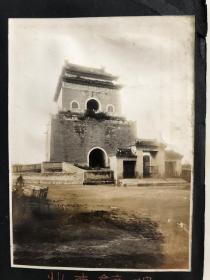 民国早期原版老照片:北京钟鼓楼老照片