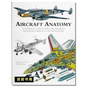 AIRCRAFT ANATOMY 飞机结构大百科 飞机详细线条图  经典现代飞机解剖图解百科