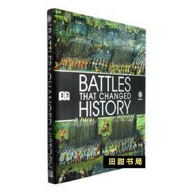 原版DK大百科Battles that Changed History军事战争知名战役