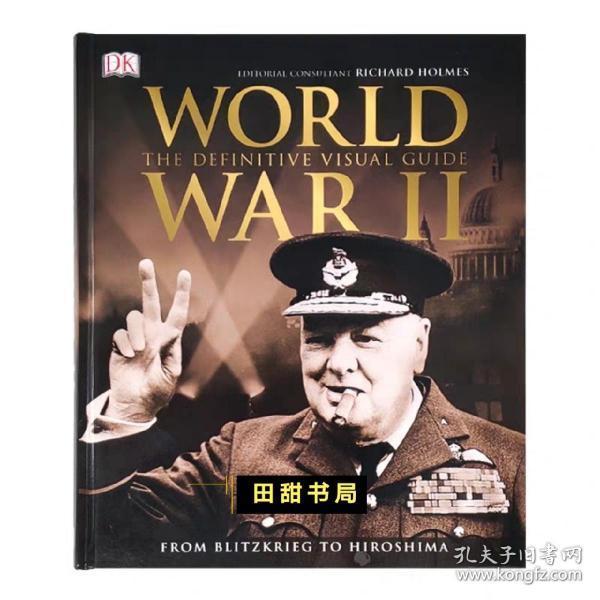 英文原版 World War II 第二次世界大战 决定性的视觉指南 第一人称叙述 探索关于第二次世界大战的一切 DK百科全书