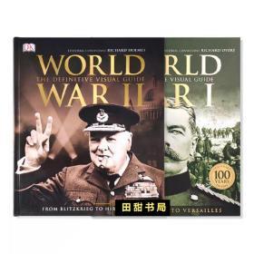 包邮 World War I & II 第一、第二次世界大战 两本套装 探索关于世界大战的一切 DK百科全书