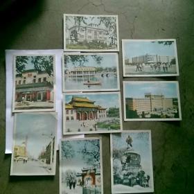 沈阳风景明信片9枚,1962年8枚,1961年一枚