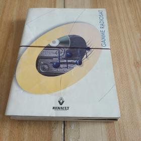 雷诺RENAULT四册
