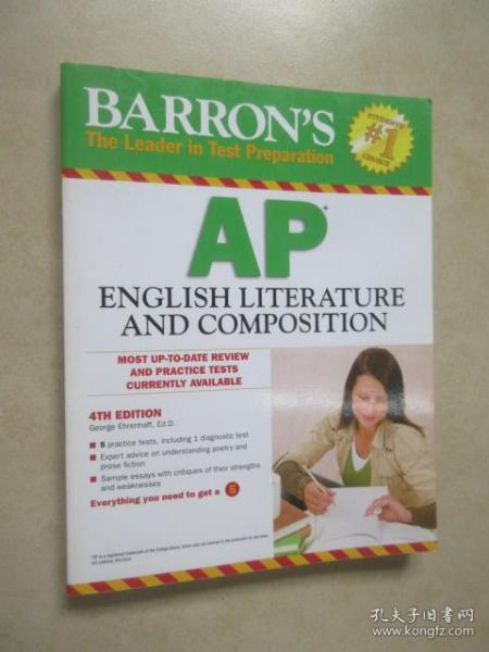 Barron's AP English Literature and Composition, 4th Edition