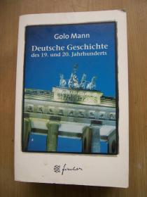 Deutsche Geschichte des 19. und 20. Jahrhunderts(19-20世纪德国史)【德文原版】32开【外文书--33】