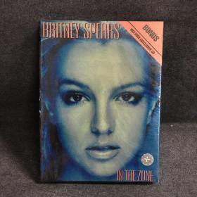 布兰妮 BRITNEY SPEARS IN THE ZONE   DVD9+CD   UFO 侧开精装 仅拆留膜  光盘  碟片   盒装 (个人收藏品) 外国电影 绝版