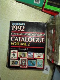 Scott 1992 standard postage stamp catalogue VOLUME 2 斯科特1992标准邮票目录第2卷 .