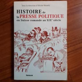 histoire de la presse politique en suisse romande aux XIX siecle