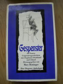 Gespenster【德文原版】精装32开【外文书--33】