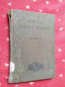 MURCHES SCIENCE READERS BOOK III 默奇科学读者第三本书