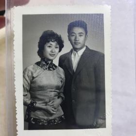 G 民国时期原版老照片 夫妻合影照