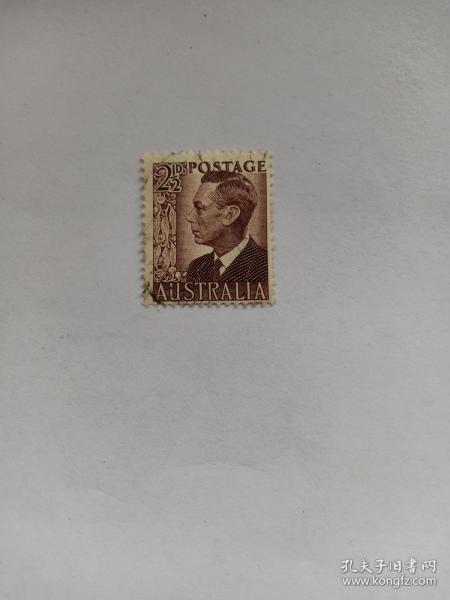 澳大利亚早期邮票 乔治六世国王 1950-1951年发行 乔治六世(1895年12月14日-1952年2月6日),英国国王,乔治五世次子,退位的爱德华八世之弟。1936年12月11日至1952年2月6日在位。他是最后一位印度皇帝(1936-1947)、最后一位爱尔兰国王(1936-1949),以及唯一一位印度自治领国王(1947-1949)。英国国王邮票