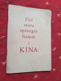 DET STORA SPRINGET FRAMAT I KINA 斯道拉斯普林吉特弗拉马特一世基纳