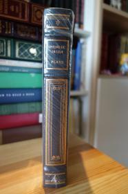 Henrik Ibsen . Plays  易卜生 全新  Franklin Library 竹节书脊 三面刷金
