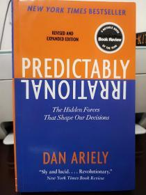 Predictably Irrational:The Hidden Forces That Shape Our Decisions怪诞行为学,英文版,瑕疵如图,介意勿拍,包邮