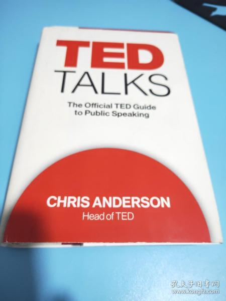 TED Talks:The Official TED Guide to Public Speaking
