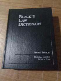 Black's Law Dictionary Eighth Edition
