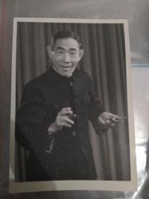 老照片 5张(济南曲艺团 山东快书杨派创始人 杨立德老先生)保真!