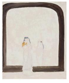 常玉    镜前母与子         原作在   北京保利十周年秋季拍卖会。1150万成交