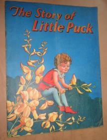 1900年The Teddy Bears Party儿童文学绘本《小精灵的故事》珍贵初版本 彩色插图