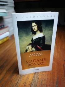 MADAME BOVARY:  gustave flaubert  (i capolavori)(意大利文原版)