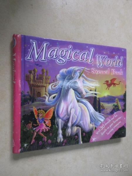 英文书 Magical World 12开精装本