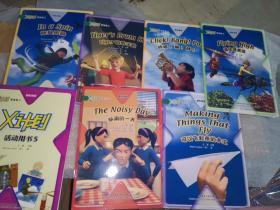 领先阅读.X计划(学生包5)第六级  全六册+活动用书 附光盘一张