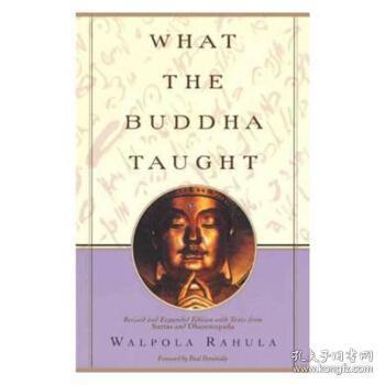 佛陀的启示 英文原版 what the buddha taught