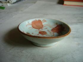 民国小瓷碟