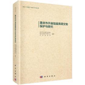 重庆市开县馆藏青铜文物保护与研究 正版 重庆市文化遗产研究院 等 9787030503565