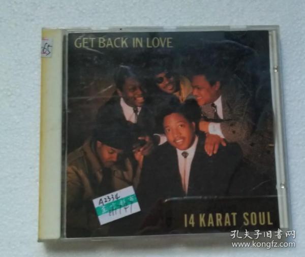 日@ GET BACK IN LOVE 14 Karat Soul 开封 H1747