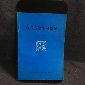 现代汉语学习指导