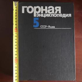 矿业百科全书(俄文版,第5册)