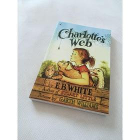 夏洛的网英文原版 Charlotte's Web e.b.怀特 英文阅读小说书籍