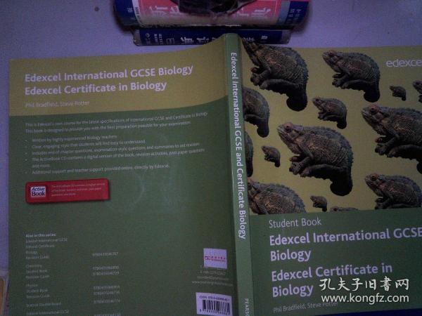 Edexcel International GCSE Biology Student Book with ActiveBook CD(无光盘)