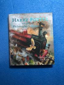 Harry Potter and the Philosopher`s Stone(8开 铜版彩印)精装,有护封