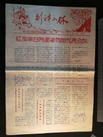 引漳入林报21期(手工刻写,油印,红旗渠工地读物)
