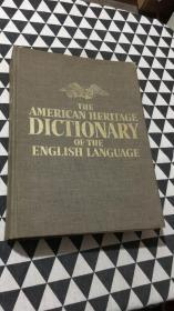 《THE AMERICAN HERITAGE DICTIONARY OF ENGLISH LANGUAGE》美国传统词典的英语