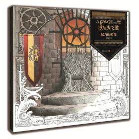冰与火之歌权力的游戏 正版 [巴西]艾伦·杰佛逊、艾德里安娜·梅洛 9787229131258