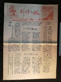 引漳入林报1960--26(手工刻写,油印,红旗渠工地的读物)