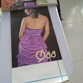 1988年明星美女挂历