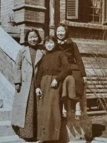 民国旗袍三美女