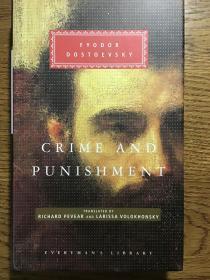 Crime and punishment 罪与罚 Fyodor Dostoevsky 陀思妥耶夫斯基 Everyman's Library 人人文库 全网最低价包邮(人人文库全场2件9.5折,3件9折)