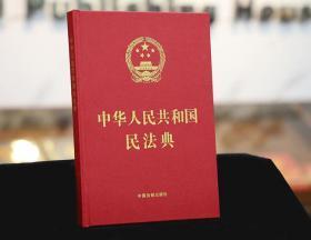 2020新版 中华人民共和国民法典 大字版 中国法制出版社