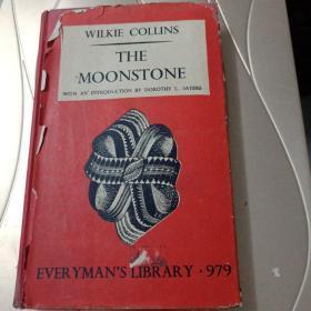 民国1949年原版英文书:WILKIE COLLINS THE MOONSTONE(著名诗人作家黄灿然1987年香港签名