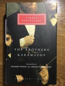 The brothers Karamazov 卡拉马佐夫兄弟 Fyodor Dostoevsky 陀思妥耶夫斯基 Everyman's Library 人人文库 全网最低价包邮(人人文库全场2件9.5折,3件9折)